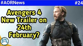 Avengers 4 second trailer, Marvel's new animated series, Superman cameo, Black widow || AORNews 24