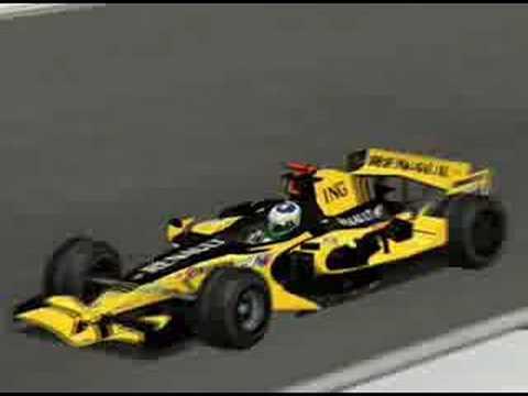ING RENAULT F1 TEAM ETIHAD RS 2008