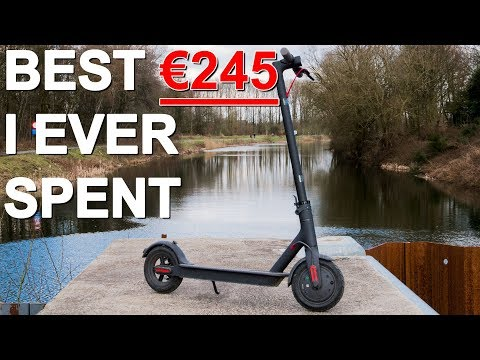 Xiaomi M365 electric scooter Review Why you shouldn't buy a folding bike