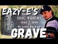 Eazy-Es Grave Site Rose Hills Cemetery Whittier , Ca