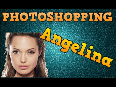 Photoshopping Celebrities: Angelina Jolie video