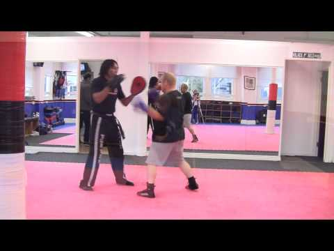 Focus mitt drills Boxing & Kickboxing  by Owen King Image 1