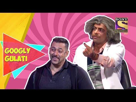 Salman Enjoys With Funny Gulati | Googly Gulati | The Kapil Sharma Show thumbnail