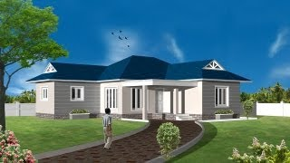 3D HOUSE USING AUTOCAD AND 3DSTUDIO MAX -   INTRO