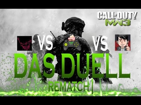 Modern Warfare 3: Duell gegen DjSichelcore und CakeeLP! Rematch! [German/Deutsch]