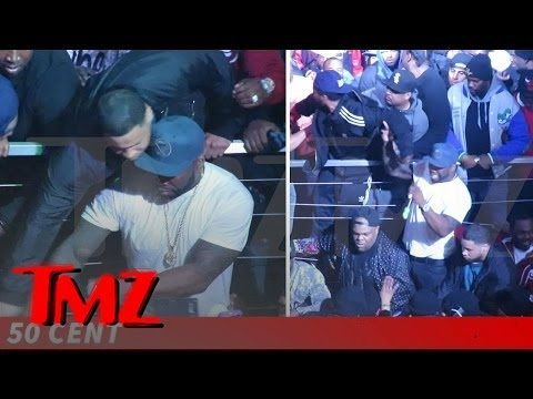 50 Cent -- Keeps Cool (Mostly) As Club Gig Gets Violent