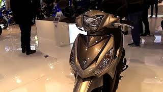 2019 Suzuki Address 110R Complete Accs Series Lookaround Le Moto Around The World