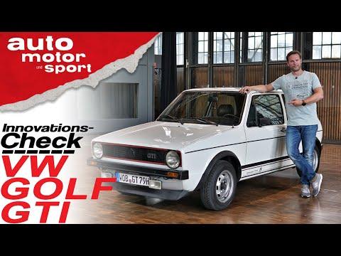 Innovations-Check VW Golf I GTI: Die Hot Hatch Review - Bloch erklärt #73 | auto motor & sport