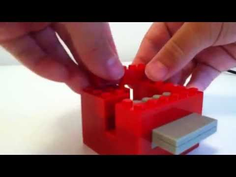 Lego candy machine tutorial