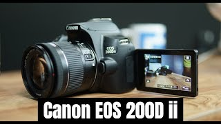 Canon EOS 200D Mark ii Unboxing, Camera Overview and Features, Lenses