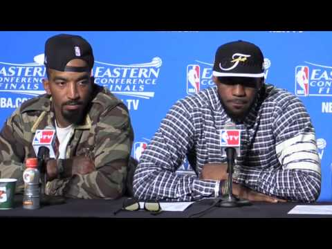 What LeBron James said after Cavaliers won the NBA Eastern Conference Championship