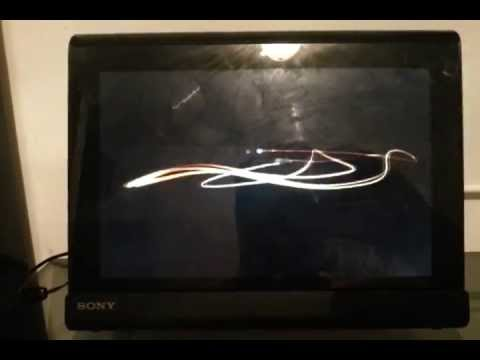 Sony Tablet S - Problema na Home