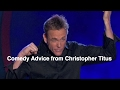 Christopher Titus Gives Comedy Advice