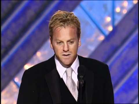 Kiefer Sutherland Wins Best Actor TV Series Drama - Golden Globes 2002