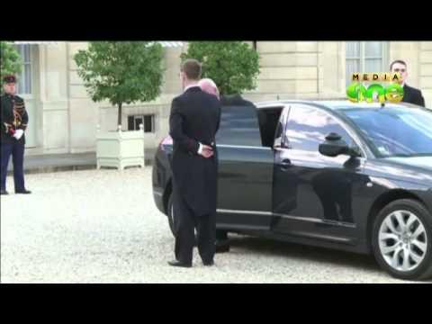 Saudi prince visits Paris