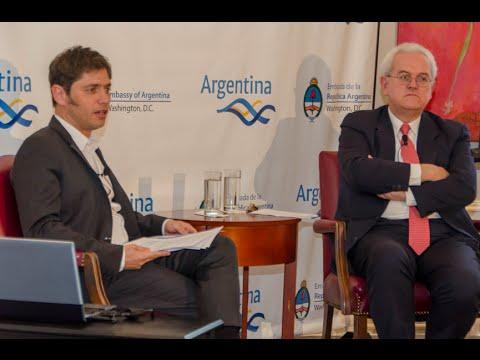 09 de OCT. Disertación sobre la reestructuración de la deuda. Axel Kicillof.
