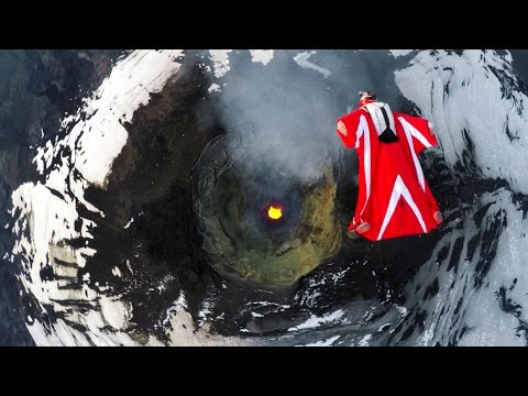 GoPro: Roberta Mancino's Wingsuit Flight Over An Active Volcano