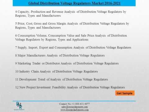 Global Distribution Voltage Regulators Market Drivers and Challenges Report 2021