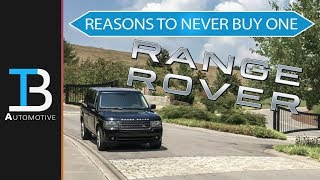 4 Signs You Should NEVER Buy A Used Range Rover