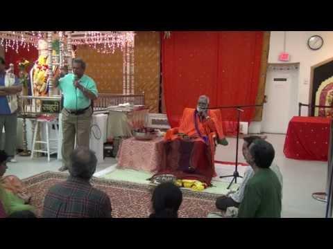 Courtallam Swamiji NJ SaiMandir 101914 01 Importance of Mantra Purachharanam