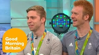 Cyclists Philip Hindes and Ed Clancy On Their Rio Victory! | Good Morning Britain