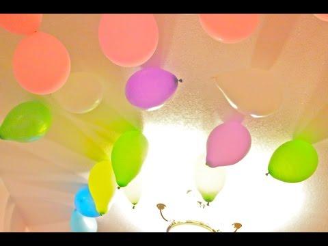 Как сделать Гелиевые шарики в домашних условиях (самый простой способ! Аналогов в интернете нет)