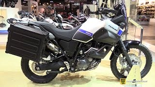 2015 Yamaha XT660Z ABS Tenere - Walkaround - 2014 EICMA Milan Motorcycle Exhibition