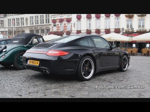 Porsche 997 Carrera 4s Mkii W Fuchs Wheels 1080p Hd