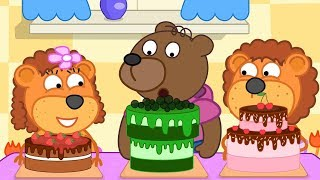 Lion Family Cooking Show Cartoon for Kids