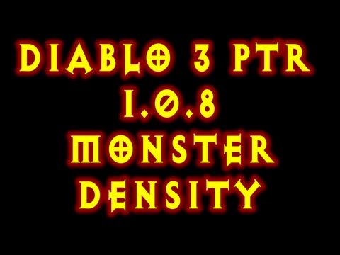 Diablo 3 PTR 1.0.8 Patch Monster Density Changes Witch Doctor Pestilence Farming