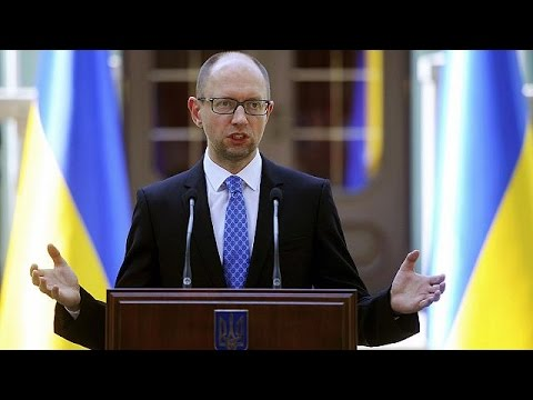 Ukrainian prime minister's triumphant speech after resignation rejected