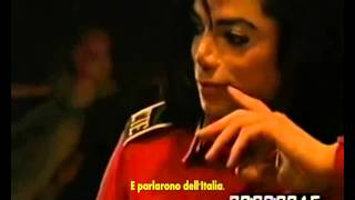 Chris Cantore tells how Michael Jackson saved his grandmother. ( Sub Ita)