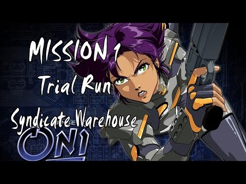 Oni - Mission 1 Trial Run - Syndicate Warehouse PC Game Version