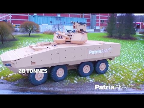 Patria - 8X8 AMV, AMV XP & AMV 28A Infantry Fighting Vehicles [1080p]