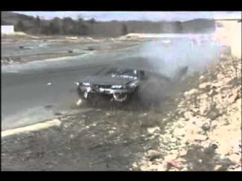 Evo bad drift accident