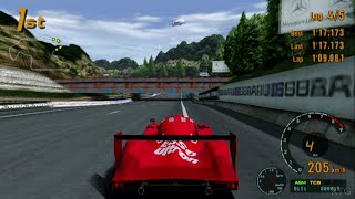 Gran Turismo 3 - Toyota GT-ONE Race Car (TS020) '99 HD PS2 Gameplay