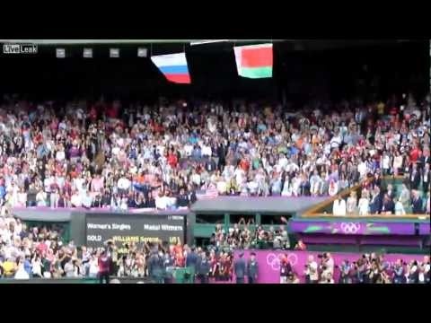 Падение Американского Флага на Олимпиаде / USA flag falls during National Anthem Olympics Ceremony