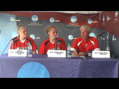 2013 NCAA DIII Softball Championship - Game 6 - Central