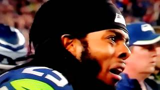 [Richard Sherman's Reaction to Interception] Video