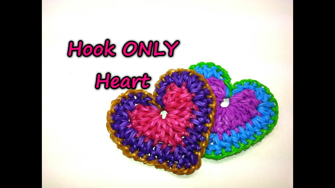 Плетение сердечек из резиночек видео уроки