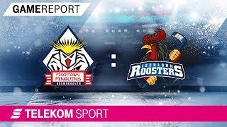 Pinguins Bremerhaven - Iserlohn Roosters | 1.Playoff-Runde, Spiel 2, 17/18  | Telekom Sport