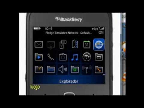 Version anterior de blackberry messenger sin errores, ni pantalla azul