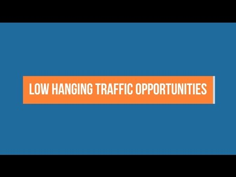 Discovering low hanging search traffic opportunities with Ahrefs