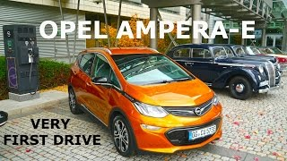 2017 Opel Ampera-e, very first drive
