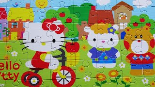 HELLO KITTY Puzzles Games Rompecabezas De Puzzle Kids Learn Toys Jigsaw Episodes