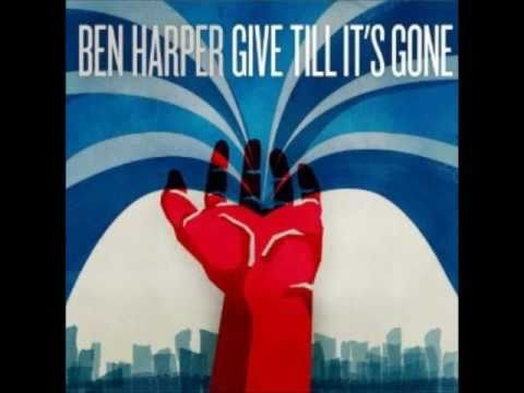 Ben Harper - give till It&#039;s gone - i will not be broken 2011 studio version
