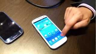 Samsung Galaxy S III, S-Voice y Gestos