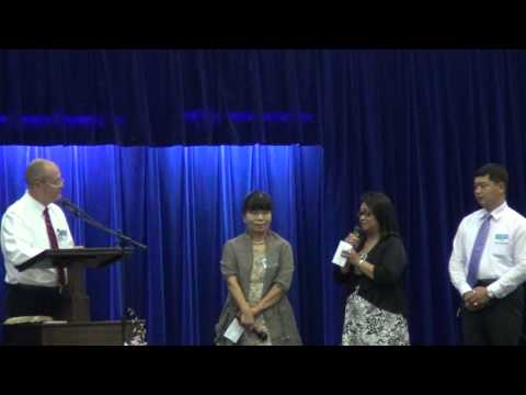 Baptism Talk Interviews in Saipan District Convention(20130727)