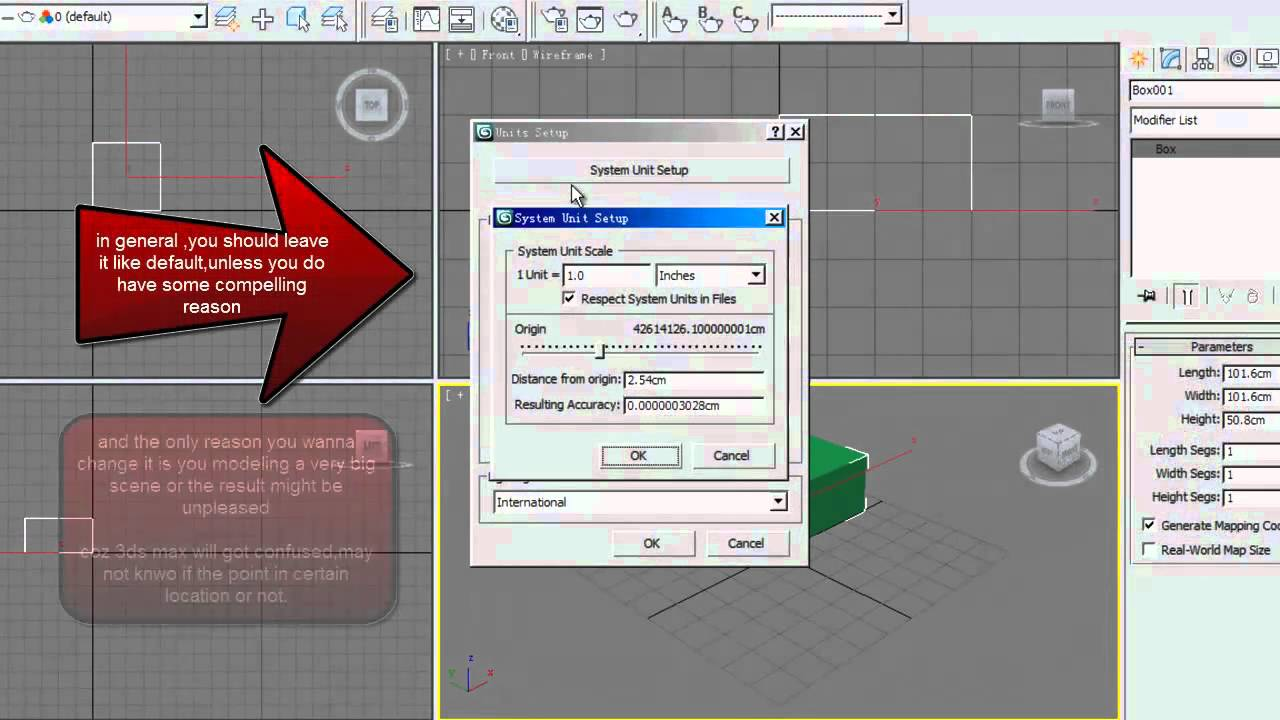 3ds Max Basic Setting Units And Home Grid Dimensionsmp4