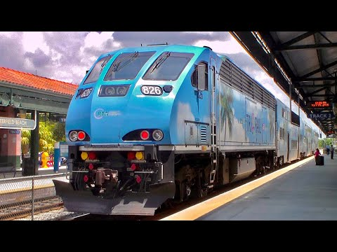 Railfanning in West Palm Beach and Deerfield Beach 7-21-15